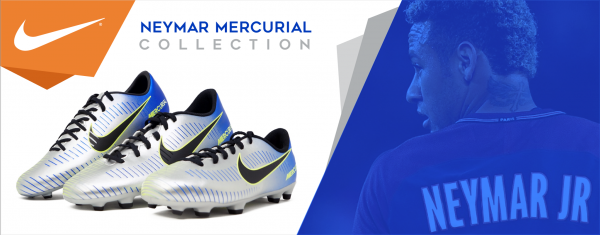 Check out the Neymar Mercurial Collection
