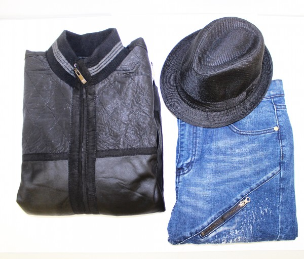 Denim, Leather and Fedoras for Fall