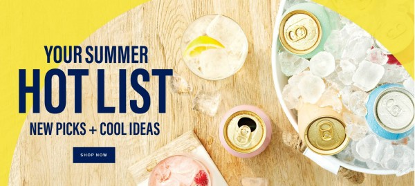 Your Summer Hot List for Weekend Sippers!