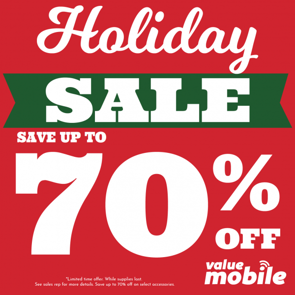 Holiday Sale on Now!