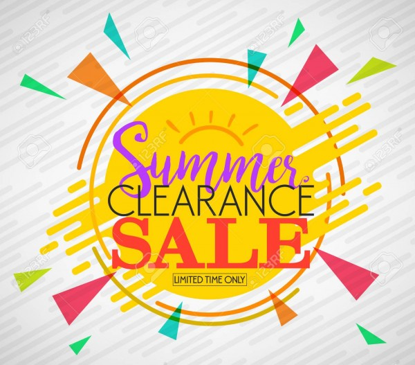Summer Clearance - Special Event Kicks off Sat Aug 17!
