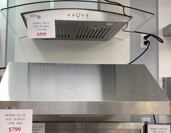 Kitchen Stove Hoods on Special - 20% OFF!