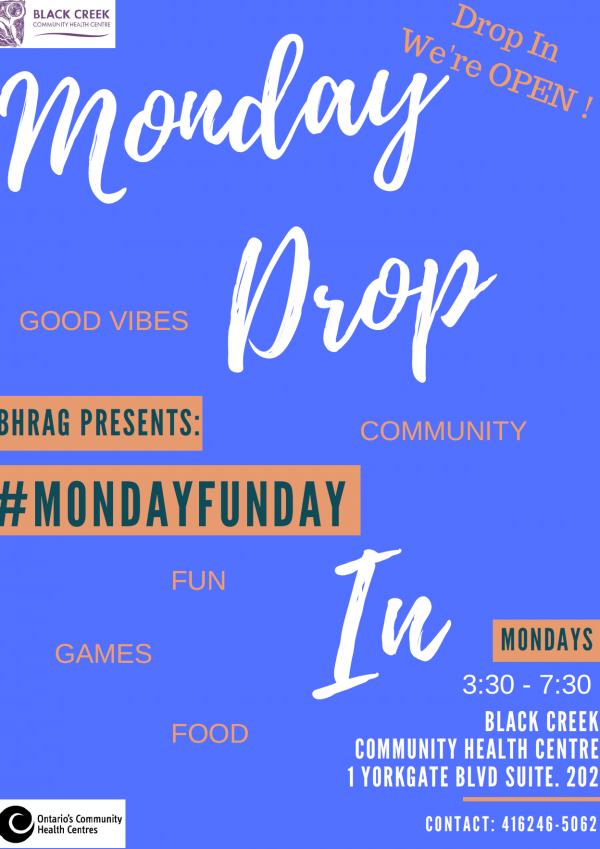 Monday Fun Day Drop in!