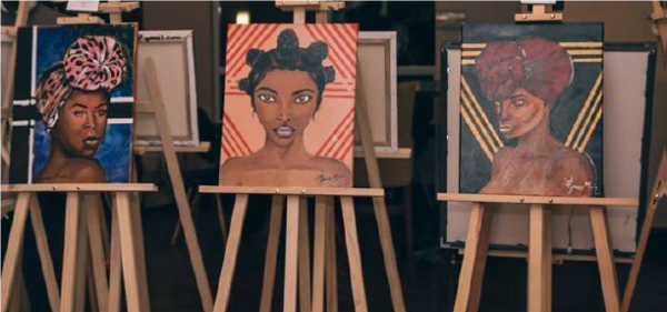 Celebrating Black Excellence through Painting!