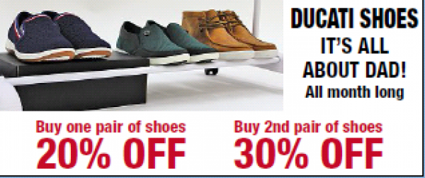 SHOE SALE FOR DAD!